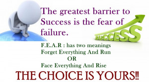 quotes no fear quotes fear of failure quotes overcoming fear quotes
