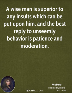 Moliere Wisdom Quotes