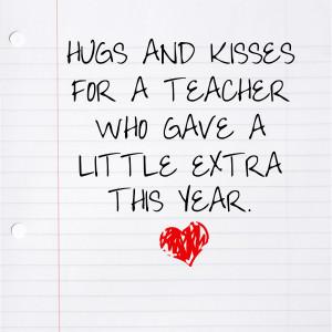 Cute Teacher Quotes For a teacher who gave a