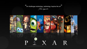 Pixar Movies HD Wallpaper