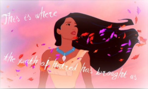 ... tags for this image include: disney, pocahontas, quote and text