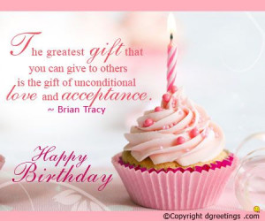... birthday quote and cheers to your loved one on his or her birthday