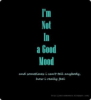 Bad Mood Ini Ceritaku
