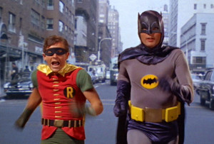 Batman and Robin? Not in NYC