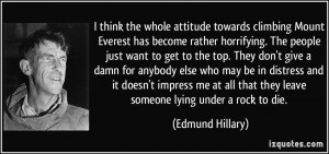 More Edmund Hillary Quotes