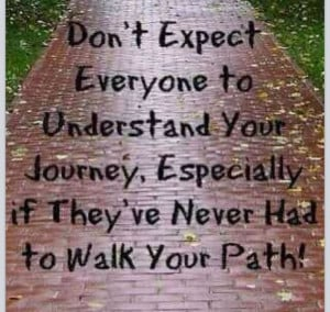 Walk in others shoes