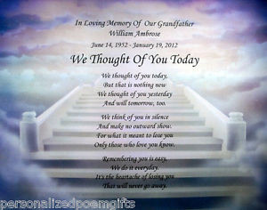 birthday poems for the deceased