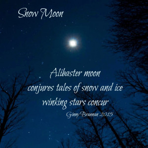 Full Moon Poems The full moon of january is