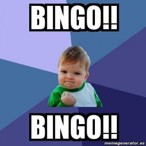 BINGO!! BINGO!!