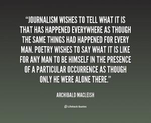 Journalism Quotes