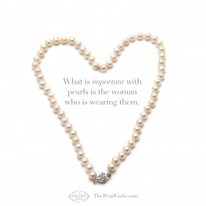 Quotes About Girls and Pearls