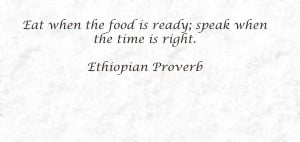 Ethiopian Quotes in Amharic http://mydiaryofafoodie.com/culinary ...