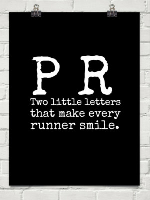 Long Distance Runner Quotes Running pr quote