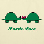 Creme Turtle Love Bags Design