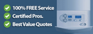 Instantly Compare FREE Combi Boiler Quotes