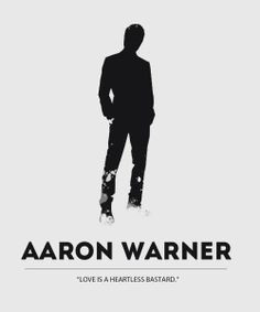 Aaron Warner - Shatter Me Trilogy - just finished Ignite Me last night ...