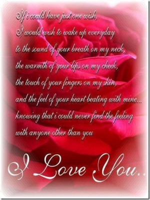 cute best love poems and quotes i love you