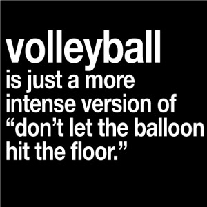 Volleyball Pictures And Quotes Volleyball balloon