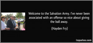 More Hayden Fry Quotes