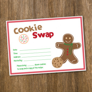 These are the cookie exchange free printables decorating day Pictures