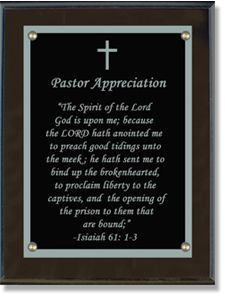 Pastor Appreciation Letters
