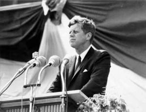 John Fitzgerald Kennedy 35th US President (1961-63)