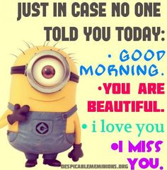 You made my day! ^_^ #minions #Despicable Me More