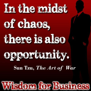 Wisdom for Business: Quote from Sun Tzu