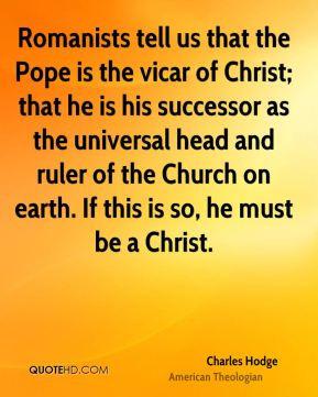 Vicar Quotes