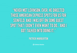 David levinson quotes
