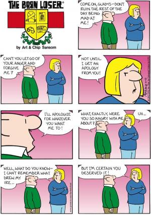 Born Loser Comic