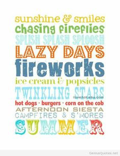 summer quotes and sayings more subway art summer wall summer subway ...