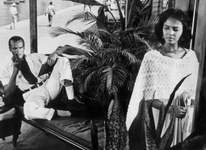 Harry Belafonte and Dorothy Dandridge in Island in the Sun directed by ...