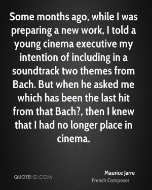 Maurice Jarre Quotes