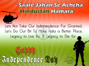 Happy Independence Day...
