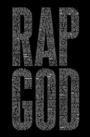 Eminem Rap God Lyrics Rap god eminem lyrics