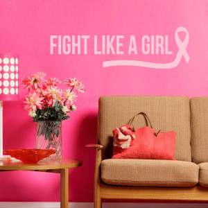 Fight Like A Girl - Wall Decals
