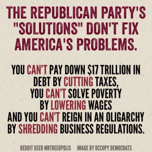 On Republican logic and why you should vote on Nov. 4th