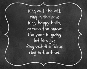 ... printables of famous quotes, poems, and Bible verses for the New Year