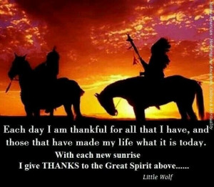Native American Good Morning Quotes