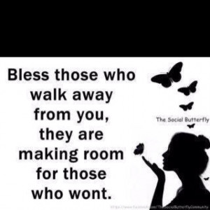 Blessed are the ones that stay!