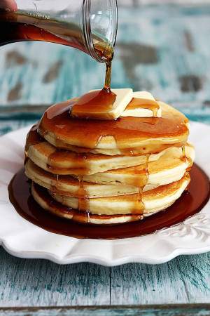 Greek Yogurt Pancakes : See ya later, buttermilk. Greek yogurt ...