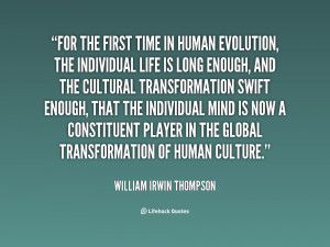 Quotes About Human Evolution