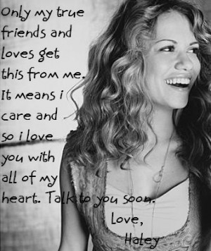 View Full Version: Haley James [s]Scott[/s]
