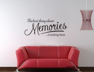 Quotes Vinyl Wall Letter