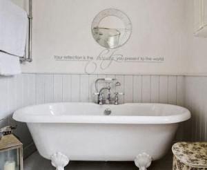 Bathroom Wall Decals Ideas, Bathroom Wall Decals Quotes