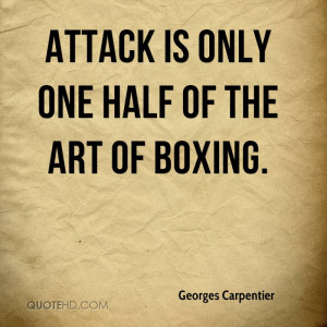 of the art of boxing life is very interesting if you make mistakes