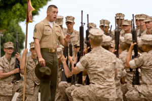Marine Drill Instructor Addresses His Recruits