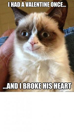Grumpy cat- Valentine's Day!