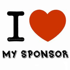 ... Sponsor! #soberlife #partysober #sponsorship #AA #NA #recovery #love